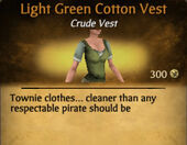 Light Green Darker Cotton Vest