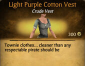 Light Purple Darker Cotton Vest