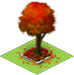 Red Holiday Tree-icon