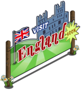 England Expansion Promo Sign