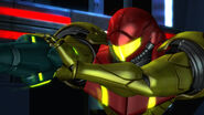 Samus aims at the Platoon Other M HD