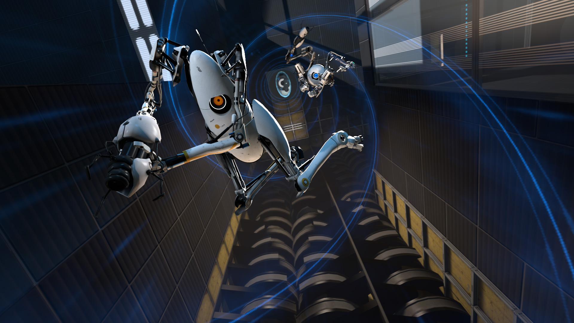 Portal 2 Co Op Wallpaper
