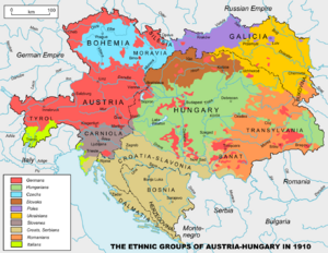 Austria Hungary ethnic
