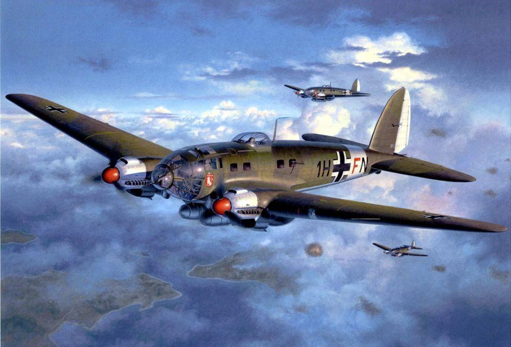 Heinkel He 111 Bomber Heinkel He 111 - Harry...