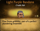 Light Purple Bandana