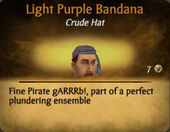 Light Purple Darker Bandana