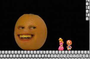 Orange, Toad, Peach