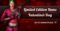 Vday marketplace sale promo