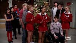 Christmas with Glee club