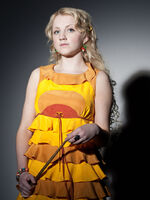 DH Luna Lovegood in yellow dress 01