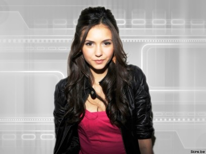 nina dobrev vampire diaries wallpaper. 409px-Nina-Dobrev-wallpaper-