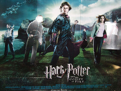 Harry Potter And The Goblet Of Fire standee