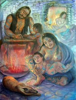 Tribal-tattoos-pict-family