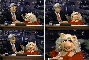 TheTonightShow-MissPiggy&amp;NotJayLenosKnee