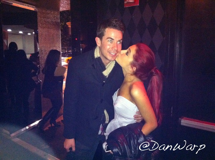 Ariana give Jerry Trainor a kiss Diane Kruger Feet Diane Kruger is a German actress Emmanuelle Chriqui Feet