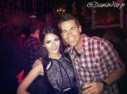 Victoria and Jerry Trainor