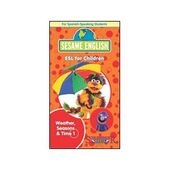 SesameEnglishWeatherSeasonsandTime1VHS