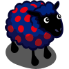 Polka Dots Sheep-icon