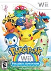 Cartula PokPark Wii- La gran aventura de Pikachu