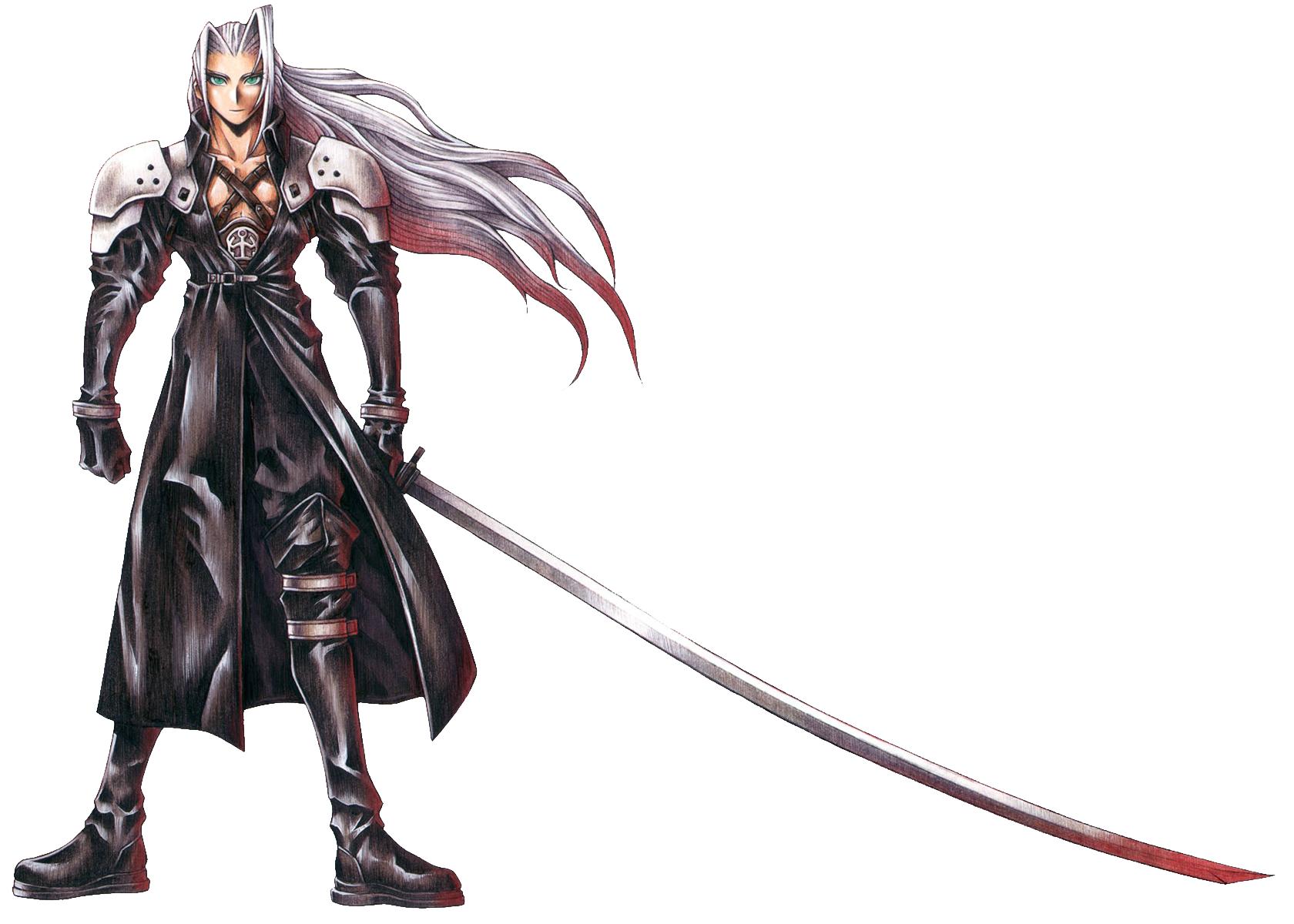 Final Fantasy VII Sephiroth-FFVIIArt