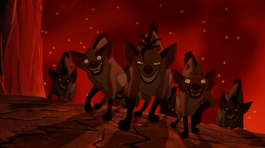 The Hyenas Characters The Lion King