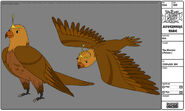 Modelsheet themorrow falcon
