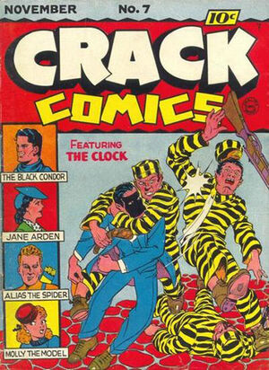 Cover for Crack Comics #7