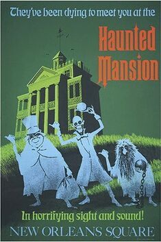 Haunted Mansion Poster