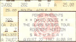 1987-04-22 David Bowie Chicago duran duran