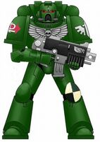 Dark Angels Space Marine