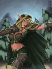 DotA Alleria the Windrunner by onetamad