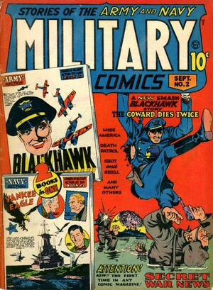 Cover for Military Comics #2