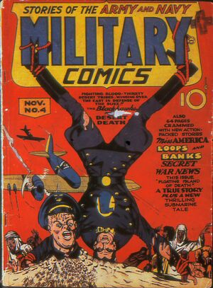 Cover for Military Comics #4