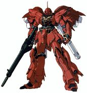 MSN-06S - Sinanju - Novel Version
