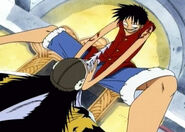 Ruffy VS Arlong 1