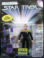 Reginald Barclay action figure - VOY Projections