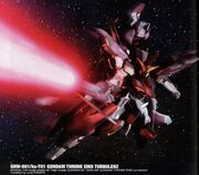 GNW-001/hs-T01 Gundam Throne Eins Turbulenz