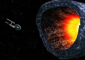 Enterprise faces off against the Planet Killer