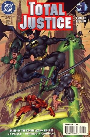 Cover for Total Justice #1