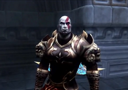 Kratos al principio God of War II