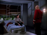 Picard and Batanides in Earhart quarters