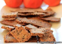Whole-wheat-sesame-seed-crackers