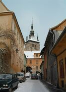 Sighişoara clock tower