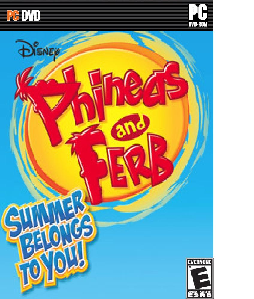 Phineas and Ferb Summer Belongs to You PC Box art Phineas and Ferb New Inventions [PC]