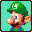 Luigi Icon (Mario Kart Super Circuit)