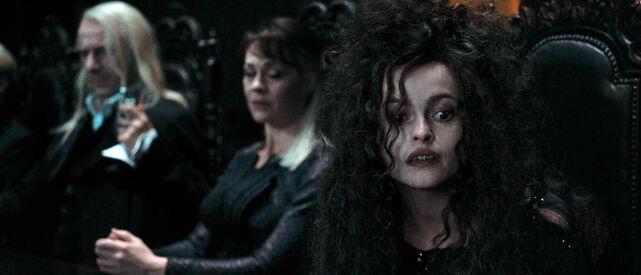 DH1 Lucius Malfoy, Narcissa Malfoy and Bellatrix Lestrange.jpg