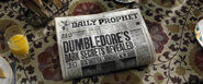Daily Prophet reports Rita Skeeter's new book
