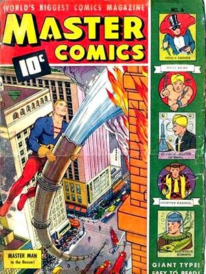 Cover for Master Comics #6