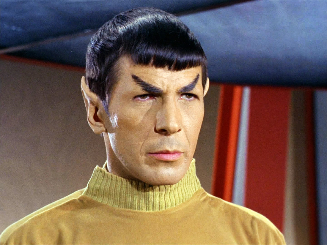 Spock eyebrows Star Trek