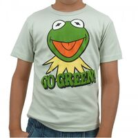 Logoshirt-Kermit-GoGreen-Kids-Shirt-lightgreen